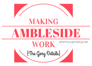 Making Ambleside Work: The Gory Details