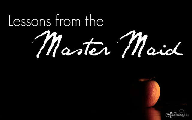 Lessons from the Master Maid: The Master-Maid might be one of the stranger fairy tales we read with our children. Here's my take on what we can learn from it.