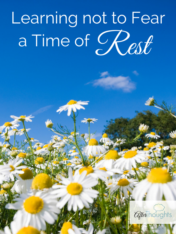 Learning not to Fear a Time of Rest