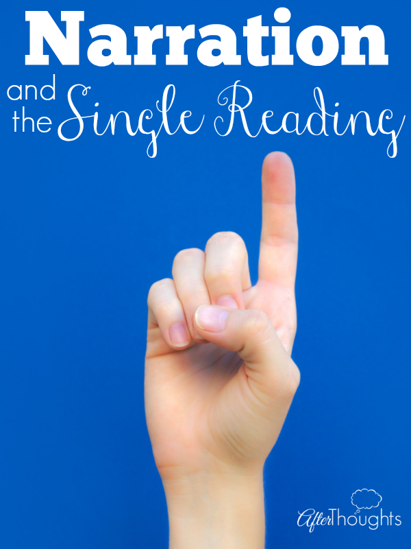 Narration and the Single Reading