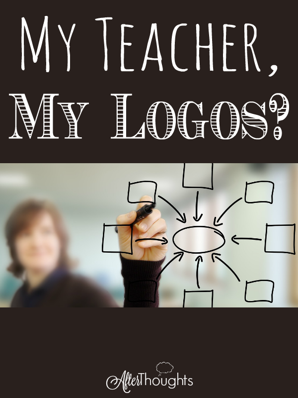 If a logos is a central organizing principle, then we should think about what is the central organizing principle of our homeschools.
