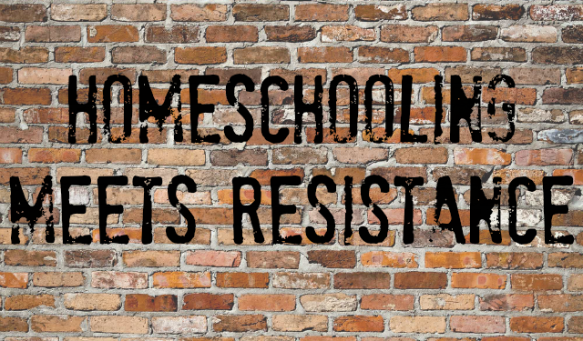 My Child Doesn't Like X: Homeschooling Meets Resistance