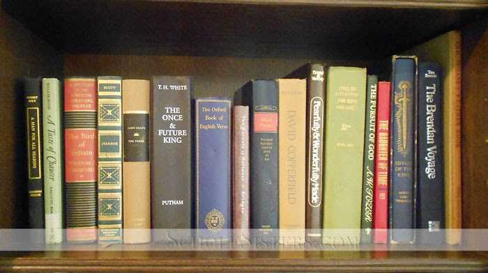 Classical Homeschooling In Our Homes Bookshelf