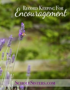 Record Keeping for Encouragement