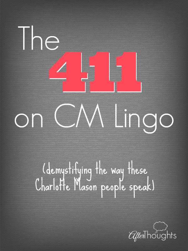 The 411 on CM Lingo