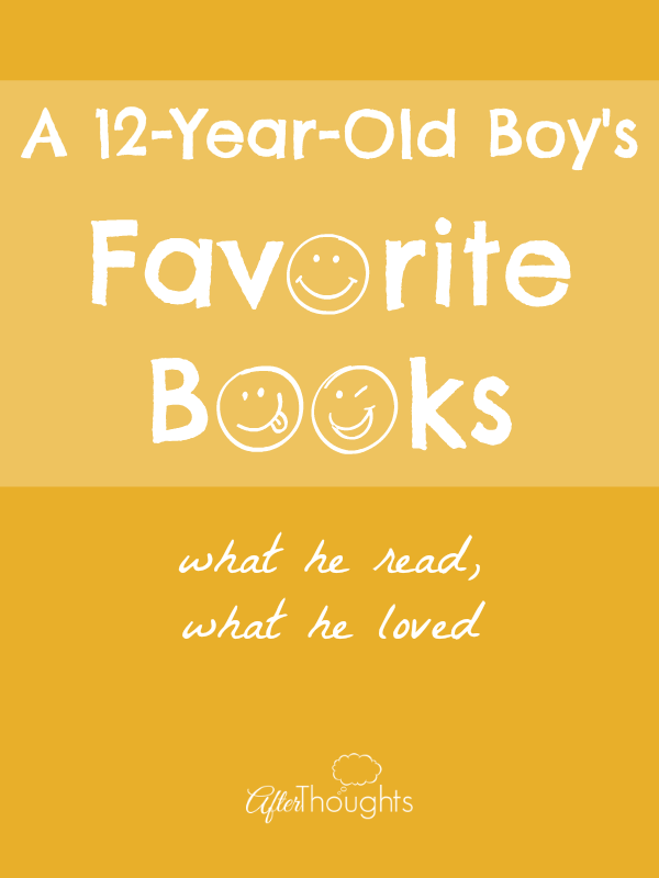 A 12-Year-Old Boy's Favorite Books