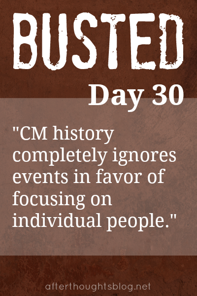 Myth: Charlotte Mason history completely ignores events in favor of focusing on an individual person.
