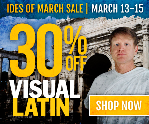 Visual Latin Ides of March Sale -- 30% off code