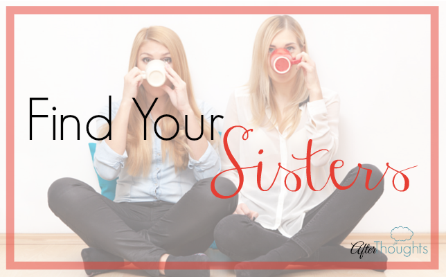 Introducing our new resource on starting a Scholé Sisters group. Because you NEED your sisters: other homeschooling moms just like you.