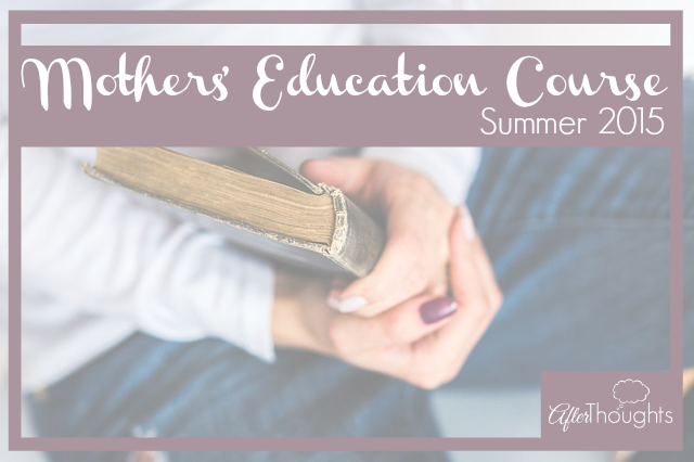 Mothers' Education Course