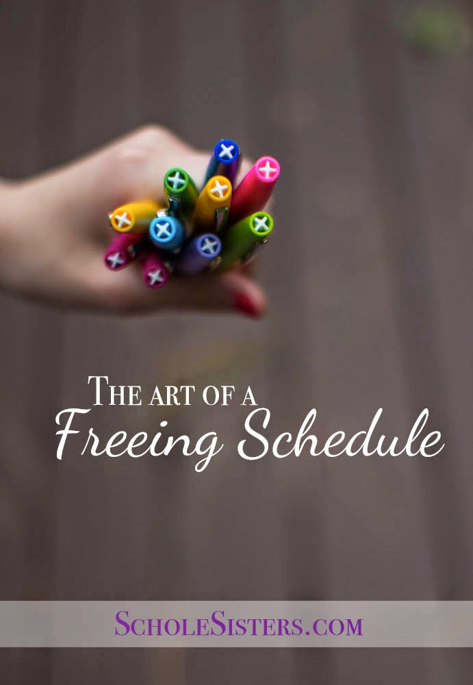 The Art of a Freeing Schedule