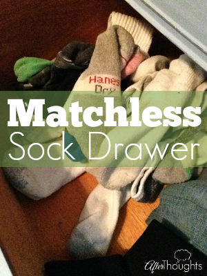 Matchless Sock Drawer