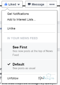 Facebook Like Control