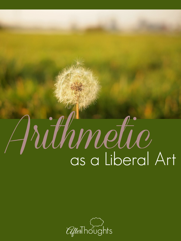 Arithmetic as a Liberal Art