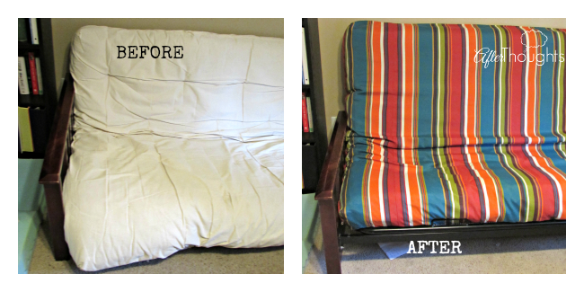 Futon Before and After