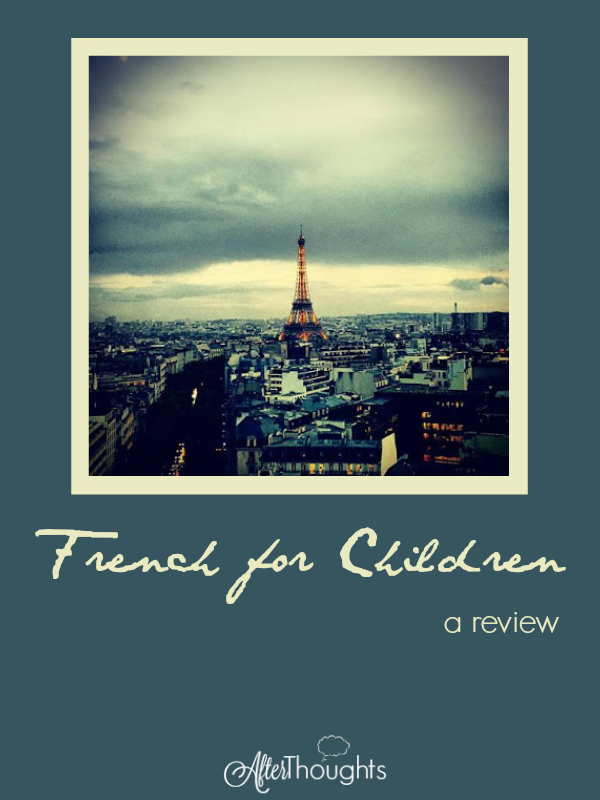 Everything you ever wanted to know about Classical Academic Press' French for Children program. The bottom line? Highly recommended.