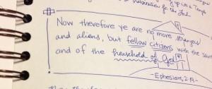 Ephesians copywork 1