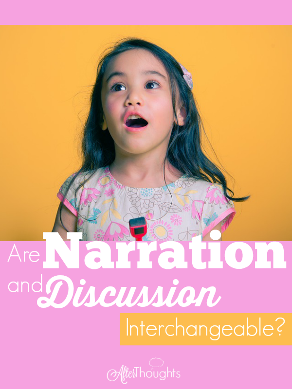Short answer: NO. But more important is why: why is narration the irreplaceable queen of our methodology? Come find out!