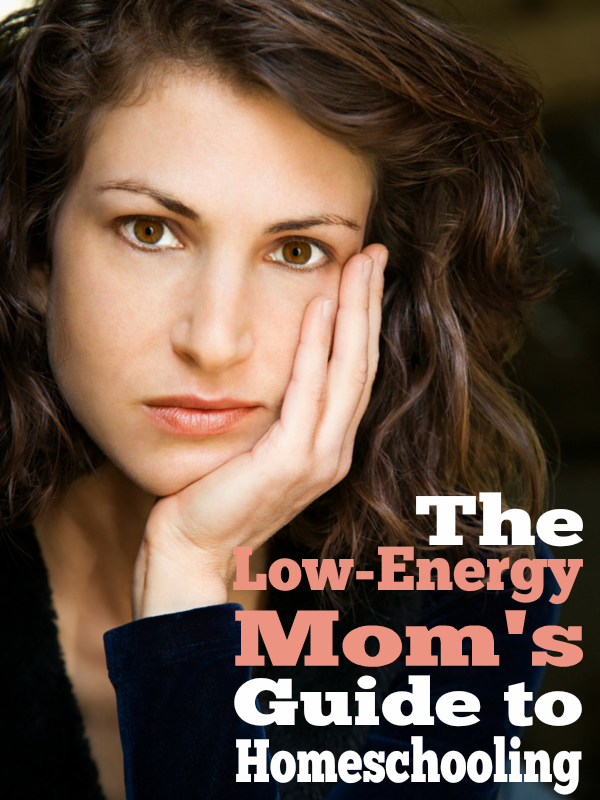 An ongoing series -- to help low-energy moms not just survive but THRIVE in homeschooling. Come and join the conversation!