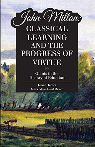 I read chapter three of Grant Horner's book on John Milton and it was quite good, though I did disagree with him on one point.