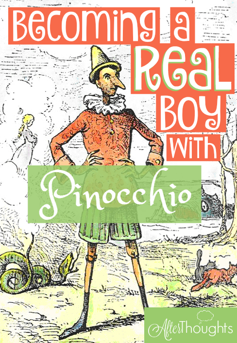 Is Pinocchio just the story of a naughty little boy who learns to behave himself? Pinocchio is about so much more than that -- here's my interpretation...