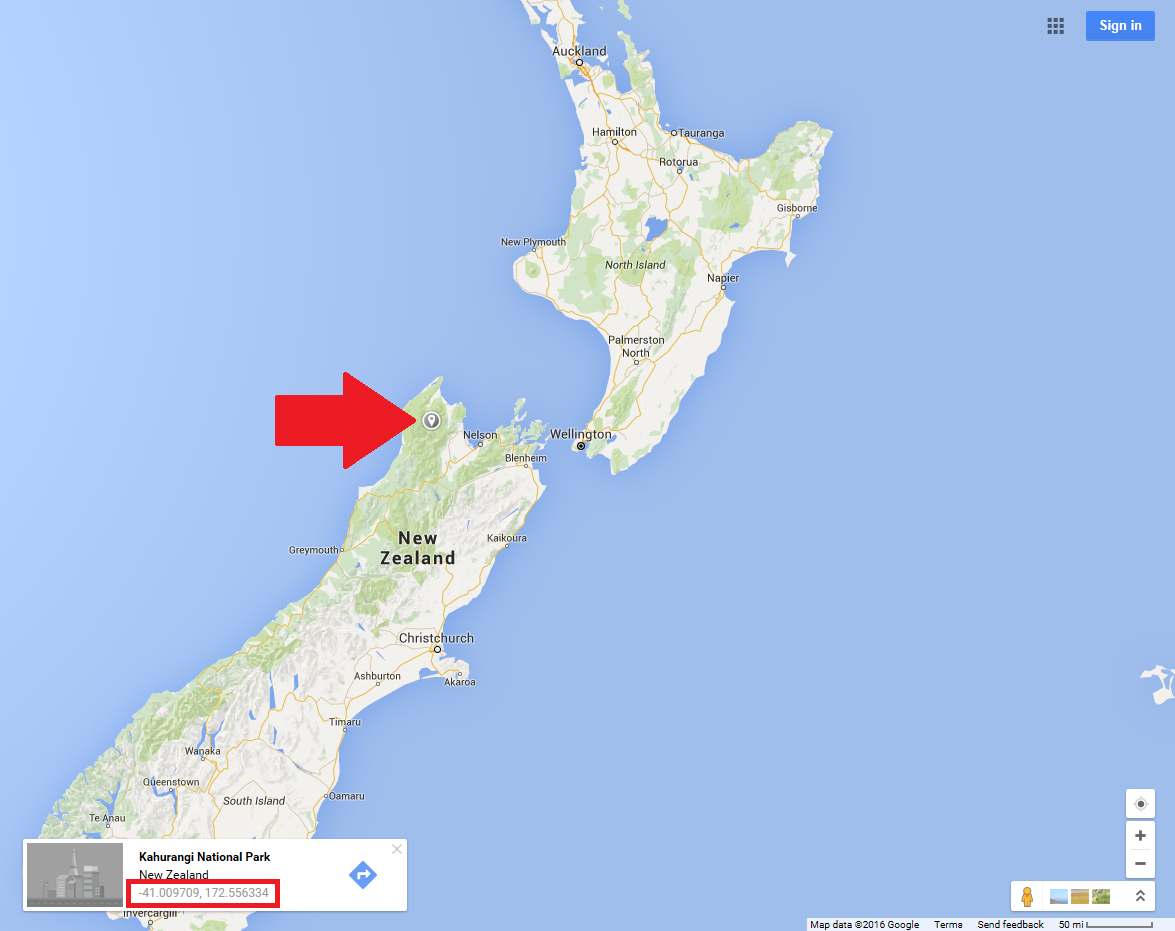 Google Map Of New Zealand.Geography Google And You A Primer On Making Blank Maps