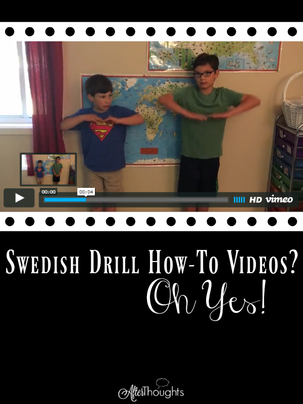Get started on Swedish Drill by using these videos designed for beginners using a script created to reinforce the fundamental positions.