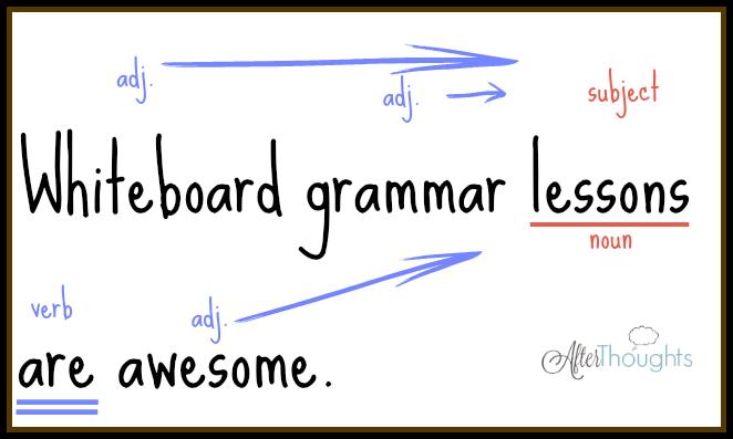White Board Grammar 4