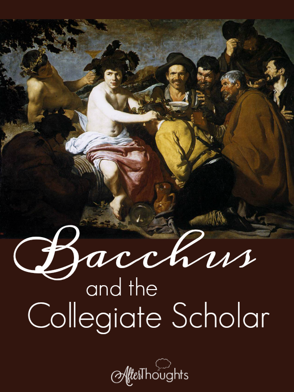 Party schools are nothing new, and college students were worshiping at the altar of Bacchus six hundred years ago, just as they often do today.