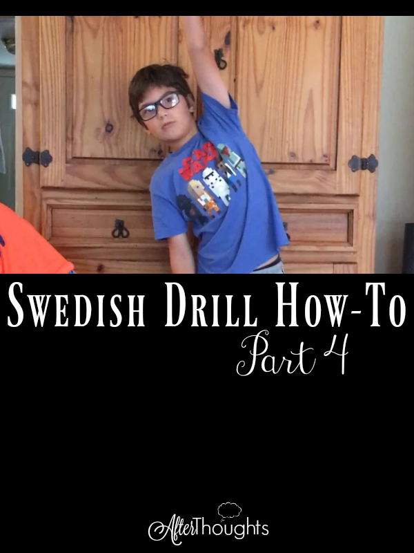 The final four exercises and our Beginning Swedish Drill routines are complete! Videos are complemented by free downloadable instructions!