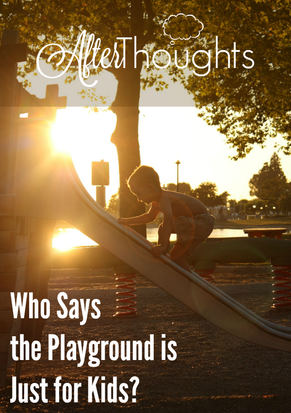 Take your children to the park and transform your time there into a workout? Totally doable, thanks to this post!