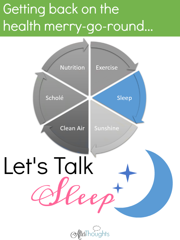 Is your homeschool suffering because you are oh so tired? Here's some advice on making sleep a priority -- and tips on what to do when that's not enough.