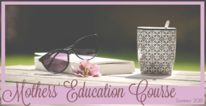 Mothers' Education Course: Summer 2018