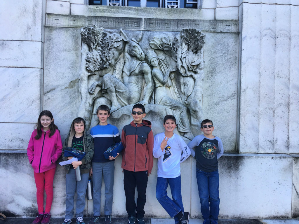 Charlotte Mason homeschool field trip to Folger Shakespeare Library