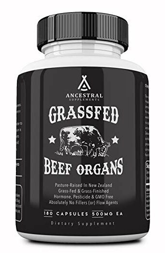 Ancestral Supplements Grass Fed Beef Organs