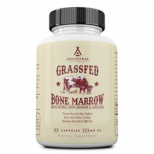 Ancestral Supplements Grass Fed Bone Marrow
